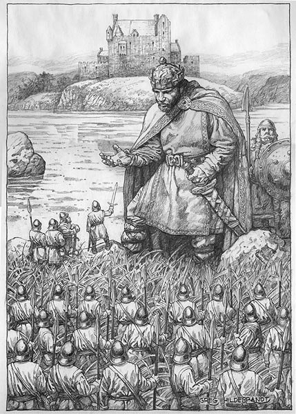 Greg Hildebrand: Lubdan, King of the Leprechauns
