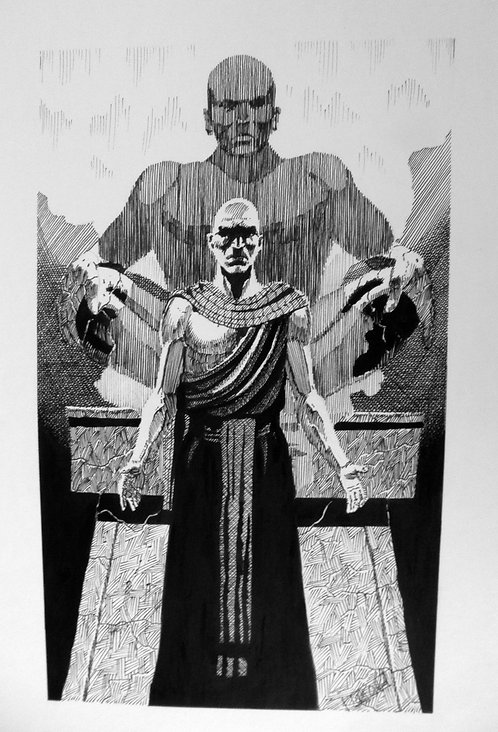 "Terry Oakes: Crimson Tide ""The Monk"""