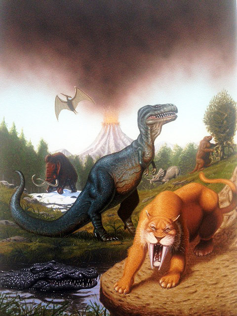 Terry Oakes: Prehistoric Monsters and Dinosaurs