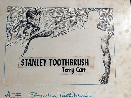 Kelly Freas: New Worlds of Fantasy: Stanley Toothbrush