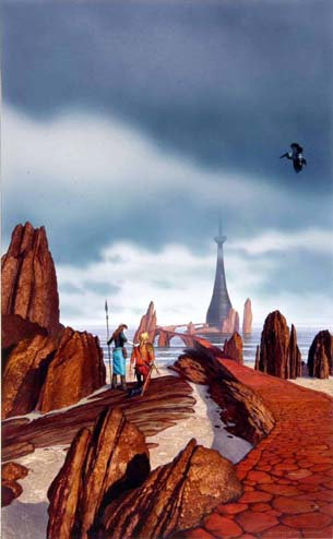 Chris Moore: The Obsidian Tower
