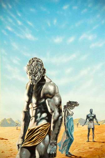 Terry Oakes: The Walking Shadow