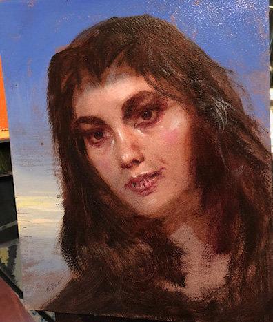 Richard Bober: Gypsy Vampire Portrait Study