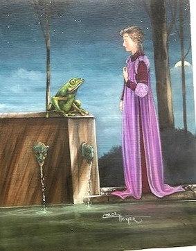 Carol Heyer: The Queen and her Frog/Sleeping Beauty
