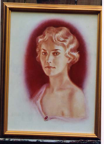 """Ned Dameron: """"You Lucky Girl"""" Portrait of Anne"""
