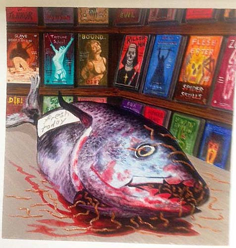 Terry Oakes: Cadaver & Videodrome