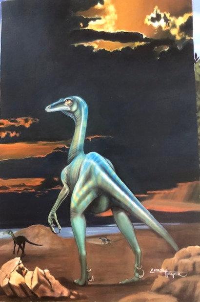 Carol Heyer: Dinosaurs! Troodon