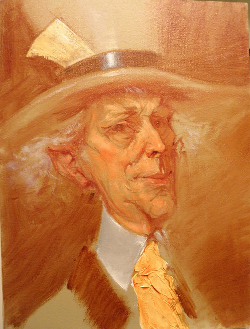 Richard Bober: Mad Hatter Portrait Study
