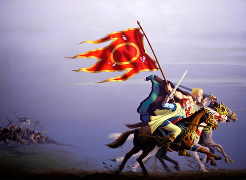 Romas Kukalis: Keys of Power #2 Fire and Sword
