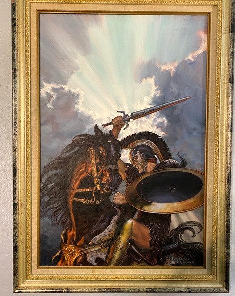 Stephen Hickman: The Winter King