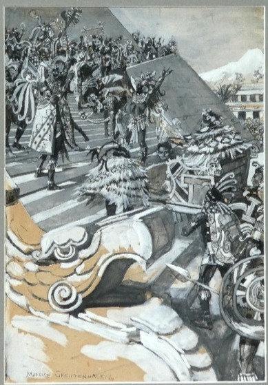 Maurice Greiffenhagen: Montezuma's Daughter #3