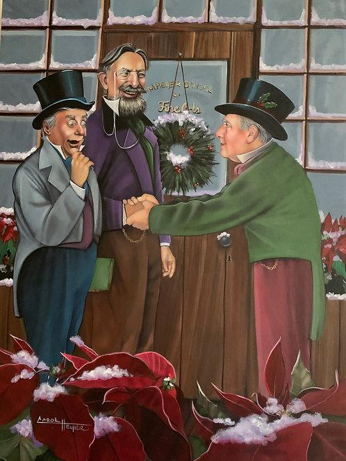 Carol Heyer: Happy Charity Men/A Christmas Carol
