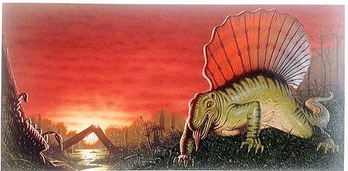 Terry Oakes: Edaphosaurus