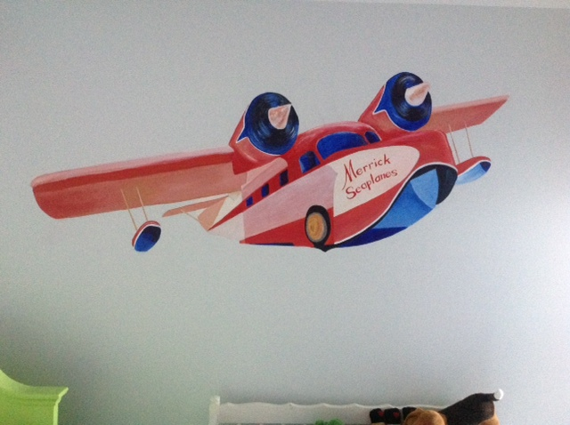 Merrick's plane