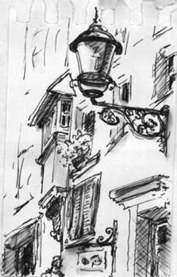 Sketch from Switzerland
