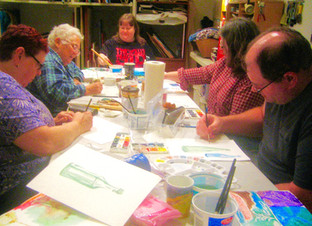 Our painting class