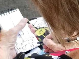 Scottish sketching