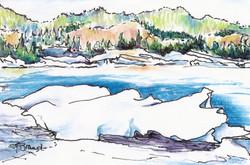 Ice galore