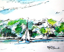 Thousand Islands sketch