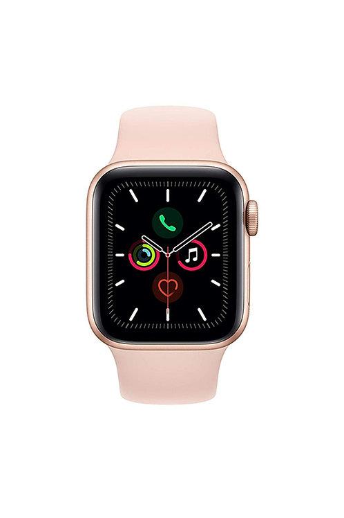 Apple Montre Series 5-44m GPS boîtier en aluminium avec bracelet sport rose
