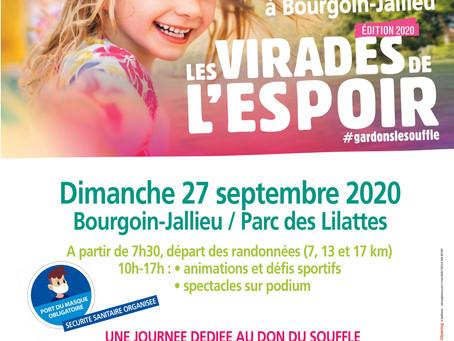 MB PROD Ce dimanche pour Les Virades de L'Espoir à Bourgoin-Jallieu