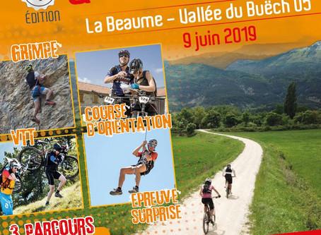 La 4 ème édition aura lieu le dimanche 9 Juin 2019 à La Beaume