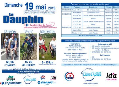 """""""Le Dauphin 2019"""" avec les Virades !"""