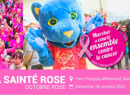 """MB PROD Partenaire Officiel pour """"La Sainté Rose"""" 2020 pour la mobilisation contre le cancer du sein"""