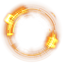 —Pngtree—golden technology light effect