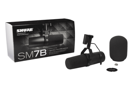 MB PROD Zoom sur le Shure SM7b - Disponible à la location.
