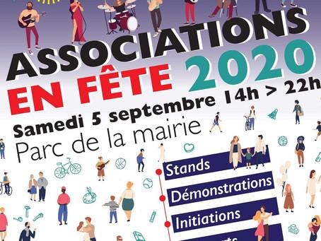 Associations en fête 2020 à Saint-Égrève
