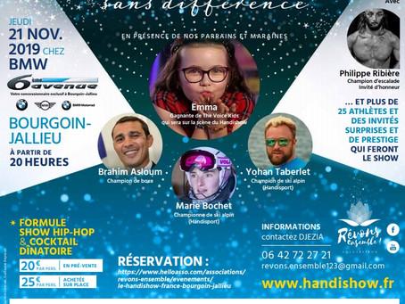 MB PROD et le HANDISHOW 2019 à Bourgoin-Jallieu !