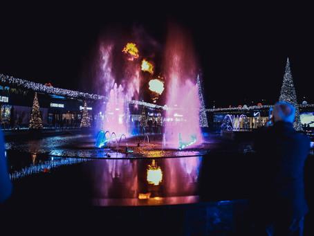 """""""The Village Outlet"""" brille pour les fêtes de fin d'année 2018"""