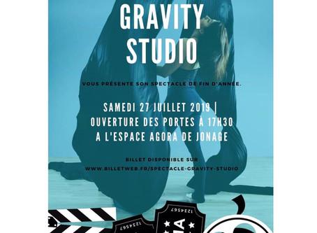 """Show de fin d'année """"Gravity Studio"""""""