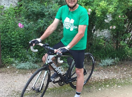 Mon défi : 900km en vélo pour Valentina et Evann
