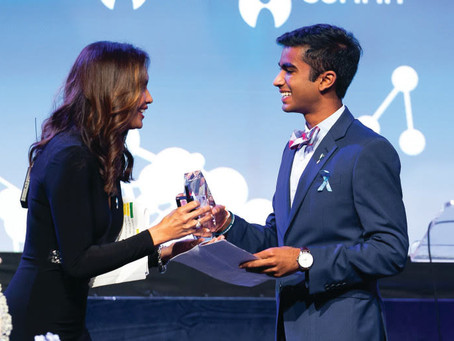 Kavi Gandhi Awarded Global Genes RARE Champion of Hope Award