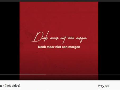 """Bazart - nieuwe single """"Denk Maar Niet Aan Morgen"""" nu uit!"""