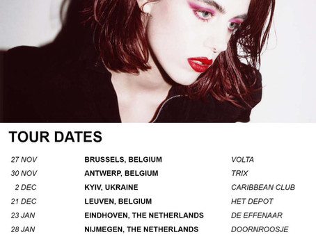Sylvie Kreusch - Nieuwe EP en Tournee