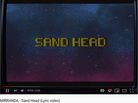 """MIRRANDA - Nieuwe single """"Sand Head"""" uit!"""