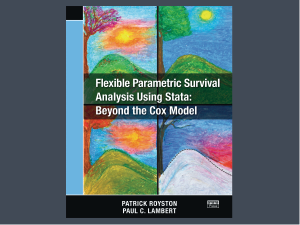 Flexible Parametric Survival Analysis Using Stata: Beyond the Cox Model