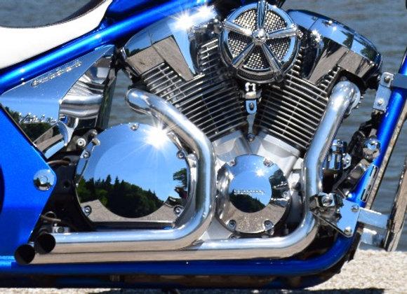 Cera Chrome GENESIS Dual Tip Exhaust