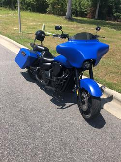 Honda VTX1300 Dooley exhaust