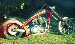 Custom Honda Fury Exhaust