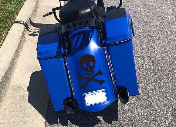 Honda VTX 1300 Reaper Doolie Exhaust