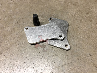 Honda Fury Pair Valve Block off Plates