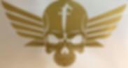 Honda Fury Skull Decal