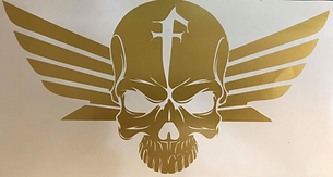 Honda Fury Skull Decal