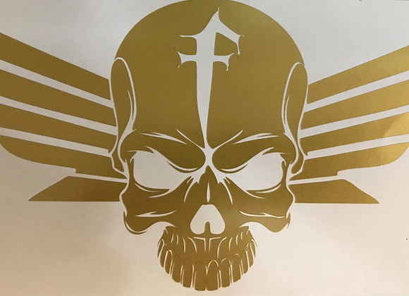 Fury Skull Decal