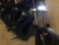 Wrap Around LED Fork Signals Honda VT1300