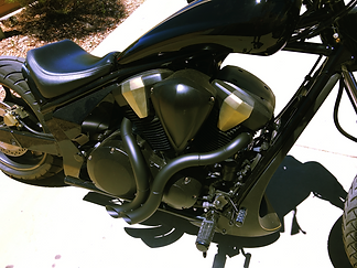 Honda Fury INFERNO Exhaust